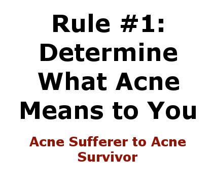Acne Sufferer to Acne Survivor